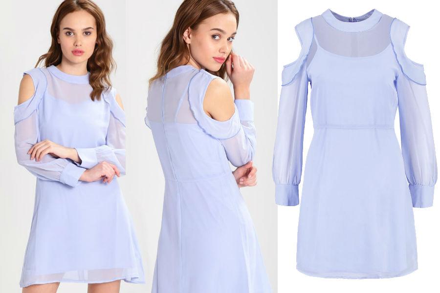 Sukienka typu cold shoulder