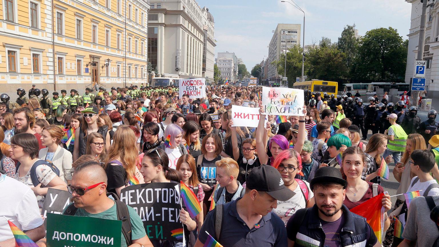 Гей парад в украине 2017