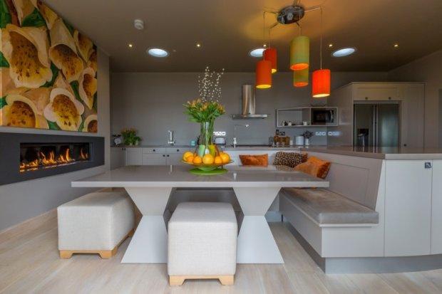 Stylowa kuchnia na zamówienie, proj. David Glover Furniture