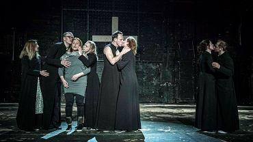 Spektakl 'Klątwa', Teatr Powszechny w Warszawie