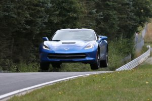 Corvette Stingray na Nurburgringu