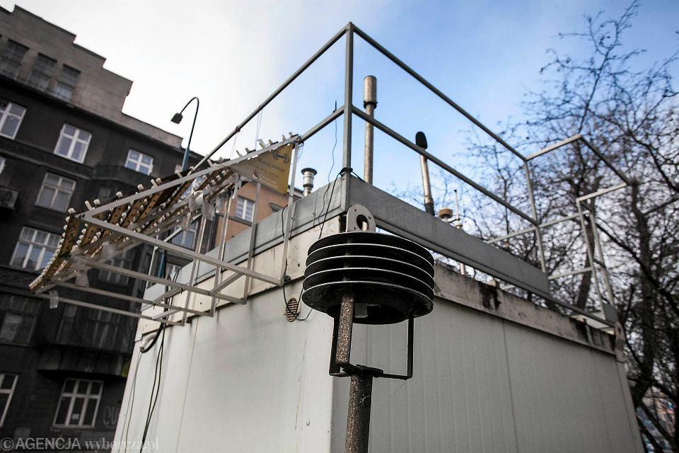 Stacja monitoringu zanieczyszczeń powietrza w Krakowie