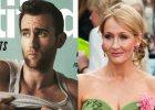 """Neville z """"Harry'ego Pottera"""" na ok�adce pisma dla gej�w w negli�u. J.K. Rowling w szoku. """"Mog�e� mnie ostrzec"""". Aktor odpowiada"""