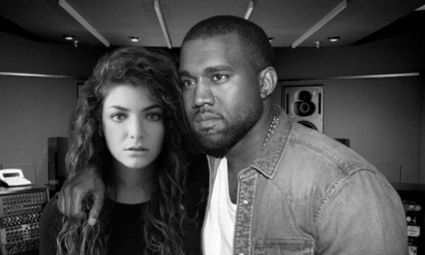 """Kanye West zremiksował, pochodzący z soundtracku do """"The Hunger Games"""", utwór Lorde """"Yellow Flicker Beats""""."""