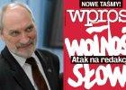 """Antoni Macierewicz / Tygodnik """"Wprost"""""""