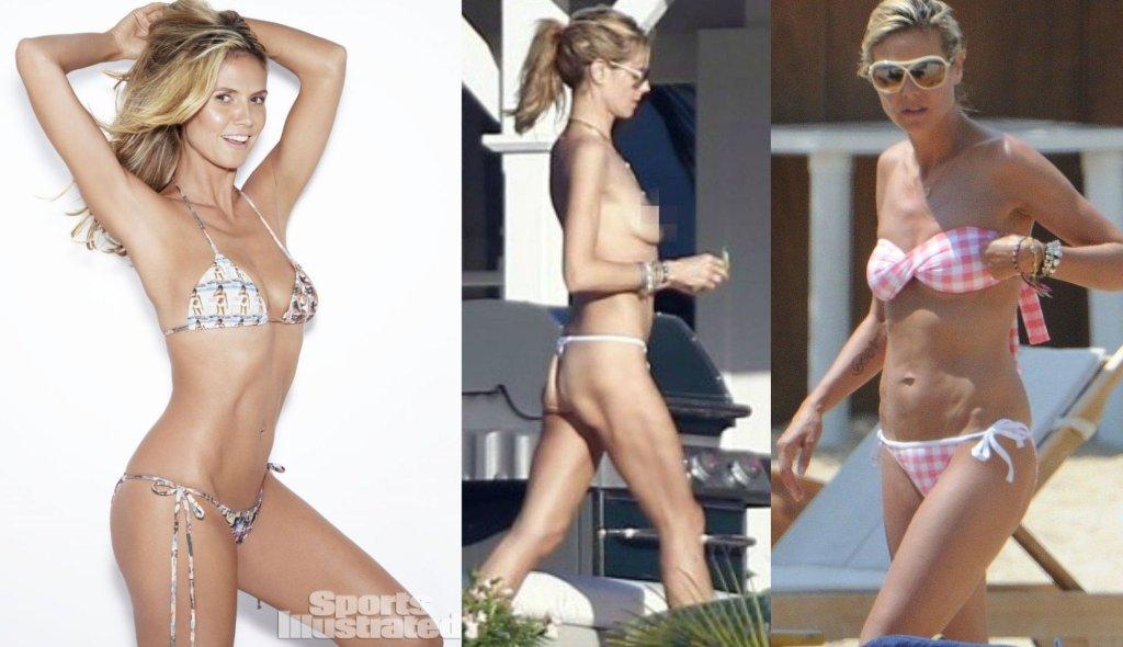 Graficy wmawiają nam, że gwiazdy w bikini mają idealne ...  Graficy wmawiaj...