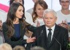 Marta Kaczyńska w sztabie wyborczym PiS. Świętowała wygraną razem z Jarosławem Kaczyńskim