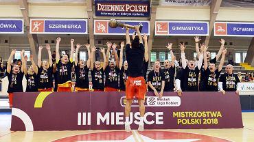 Koszykarki Ślęzy zakończyły sezon na trzecim miejscu