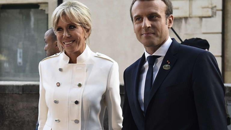 Briggite i Emmanuel Macron.