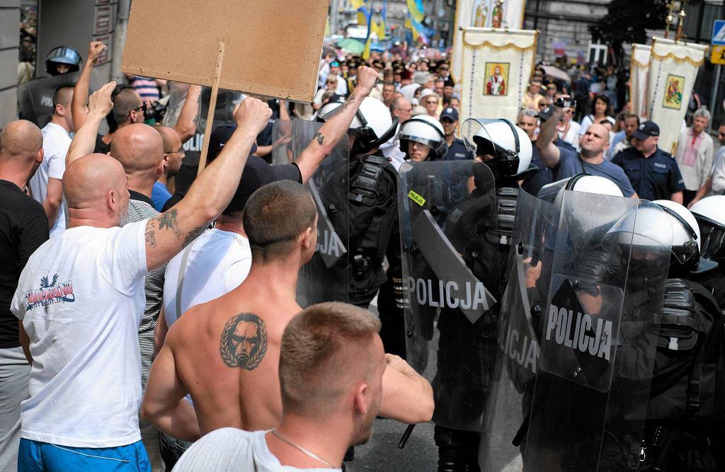 Nacjonaliści pikietują w Przemyślu