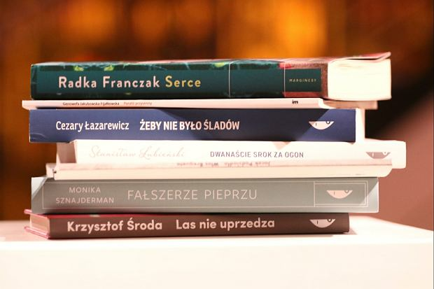 Książki nominowane do NIKE