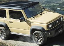 Nowe Suzuki Jimny - mała terenówka w nowym stylu