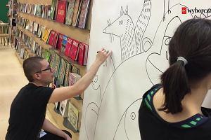 Targi książki w Londynie. Aleksandra i Daniel Mizielińscy rysują na żywo