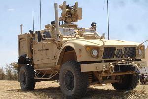 Oshkosh M-ATV należący do wojsk lądowych Stanów Zjednoczonych