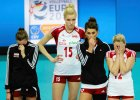Paulina Maj, Agnieszka Kąkolewska, Katarzyna Skowrońska i Milena Radecka w barwach reprezentacji Polski