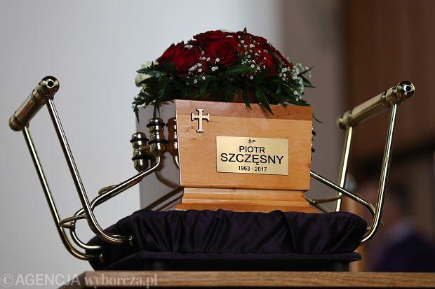 Pogrzeb Piotra Szczęsnego w Krakowie