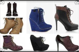 Trendy: sznurowane buty na jesie� i zim� - ponad 70 propozycji