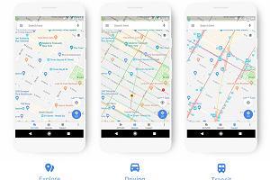 Mapy Google w nowej szacie graficznej