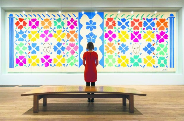 Wycinanki starego Matisse'a - wystawa w Tate Modern w Londynie