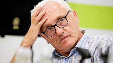 Jan Tomasz Gross podczas spotkania z czytelnikami w Krakowie, 8 sierpnia 2018