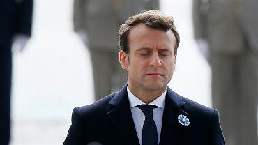 Prezydent elekt Emmanuel Macron
