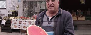 Ko�czy si� sezon na arbuzy. Jak wybra� najlepsze? Radzi ormia�ski sprzedawca z warszawskiego bazaru