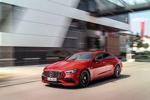 Mercedes-AMG GT 4-Door Coupe 2018 - cennik. Czas na słabsze i tańsze wersje
