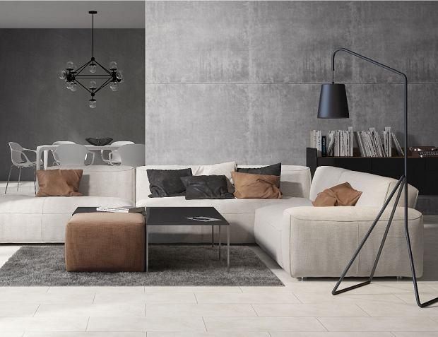 Beton dekoracyjny - pomysły na zastosowanie. Beton na ścianę oraz meble i dodatki z betonu