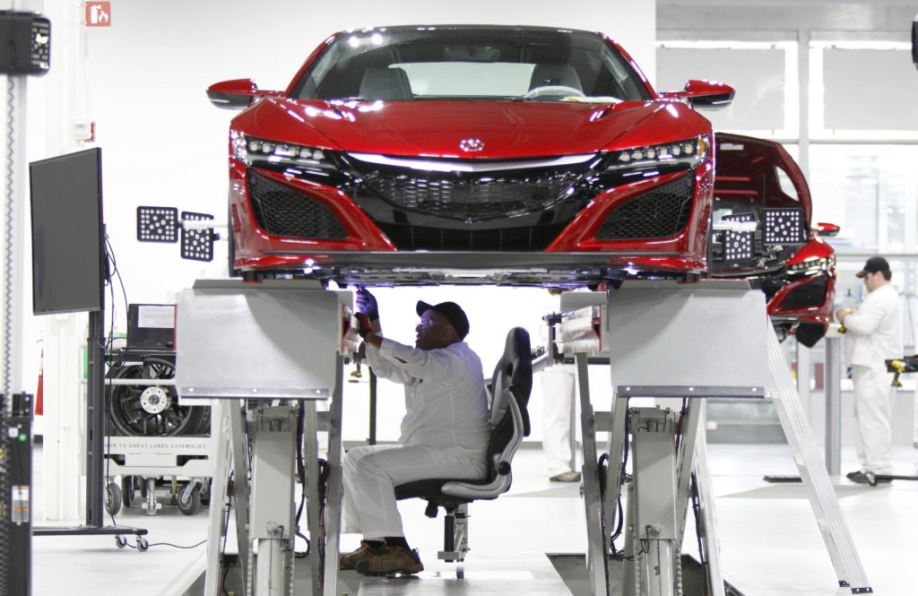 Rusza produkcja Hondy NSX
