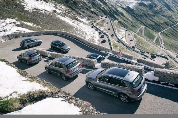 Sze�� milion�w Audi z nap�dem quattro