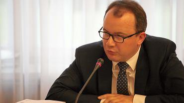 Rzecznik Praw Obywatelski Adam Bodnar podczas sprawozdania przed sejmowa Komisja Sprawiedliwosci i Praw Czlowieka.