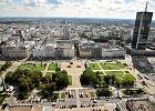 Tymczasowy park przed Pałacem Kultury? Ratusz rozpisał konkurs