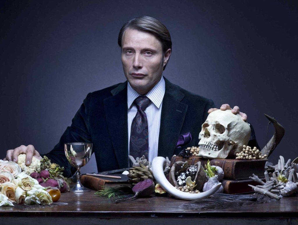 Mads Mikkelsen w serialu ''Hannibal'', fot. AXN