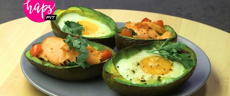 Awokado faszerowane na dwa sposoby - ulubione śniadanie trenerek fitness [HAPS FIT]