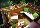 Letni relaks na balkonie