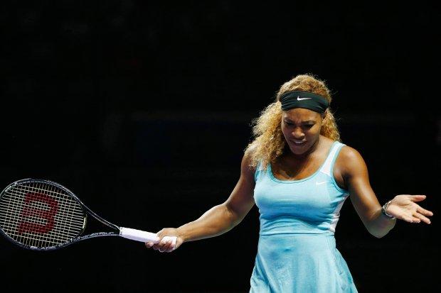 Zdjęcie numer 2 w galerii - WTA Finals. Serena Williams rozbiła Simonę Halep!