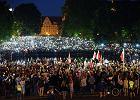 Tysiące ludzi w całej Polsce znów protestowało w obronie niezależności sądów