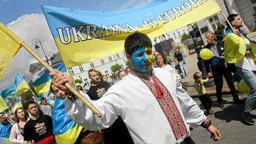 Ukraińcy na Paradzie Schumana