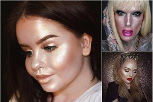 Cały makijaż rozświetlaczem? To możliwe!
