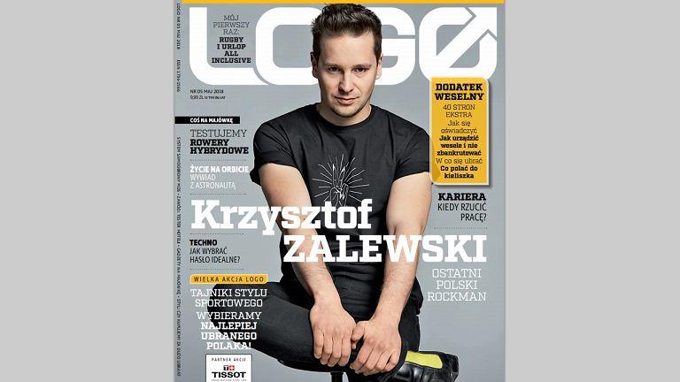 Krzysztof Zalewski bohaterem okładkowym majowego 'LOGO'