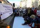 Wrocław popiera protest rodziców osób niepełnosprawnych w Sejmie. Demonstracja pod Pręgierzem