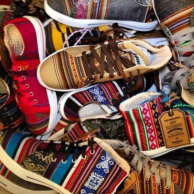 5e7922de Ręcznie szyte trampki Ręcznie szyte trampki Kolorowe buty Inkkas
