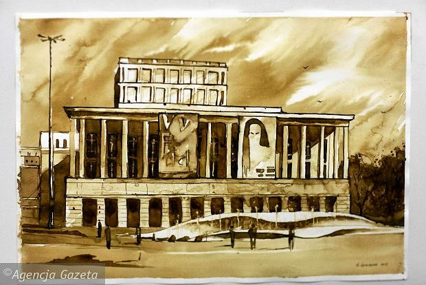 Zdjęcie numer 0 w galerii - Łódź namalowana kawą. Miasto jak kofeina [ZDJĘCIA]