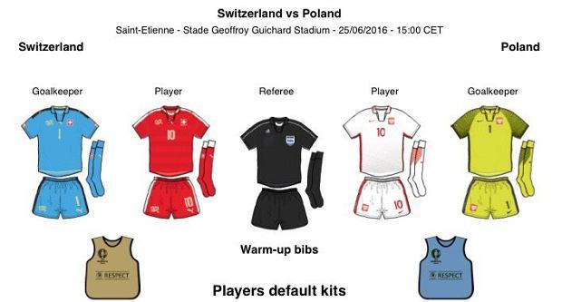 fd40f986e Euro 2016. Szwajcaria - Polska. Wiemy, w jakich strojach zagrają Polacy