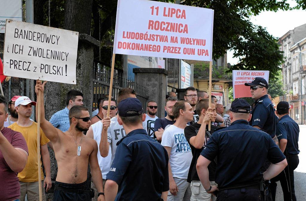Procesję w Przemyślu Ukraińcy organizują od kilkunastu lat. W zeszłym roku zakłócili ją kibole i wszechpolacy. Skandowali m.in.: 'Przemyśl zawsze polski', 'Znajdzie się kij na banderowski ryj'