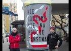 #selfiezsłupem. Protest przeciwko ułaskawieniu Mariusza Kamińskiego