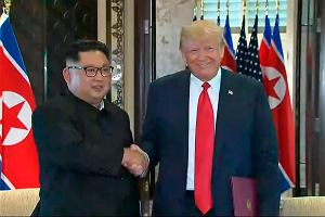 Historyczne spotkanie. Donald Trump i Kim Dzong Un nie wystraszyli inwestorów. Ale euforii też nie ma