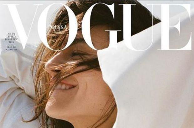 Kasia Smutniak w 'Vogue Polska'