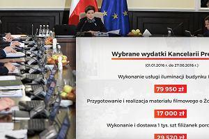 Poseł zmusił Kancelarię Premiera do ujawnienia wykazu umów. Na co poszło 30 mln zł?
