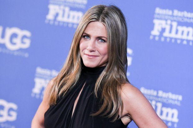 Jennifer Aniston arrives at the 30th Santa Barbara International Film Festival Montecito Award ceremony on Friday, Jan. 30, 2015, in Santa Barbara, Calif. (Photo by Richard Shotwell/Invision/AP)